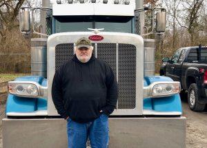 Lewis Transport Inc Truck Driver Tim Maynard